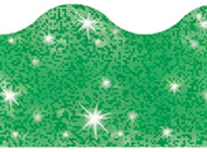Picture of Green Sparkle Border