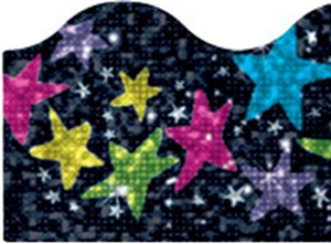 Picture of Sparkle Stars Border