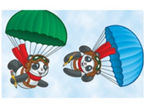 Picture of Panda Pals Spotlight Border