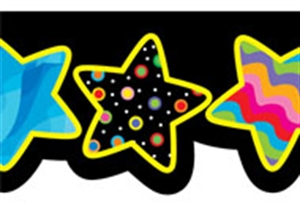 Picture of Poppin' Patterns Stars Border