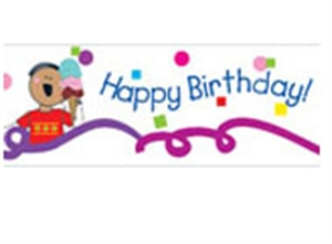 Picture of Stick Kids Birthday Border