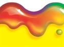 Picture of Rainbow Gel Border