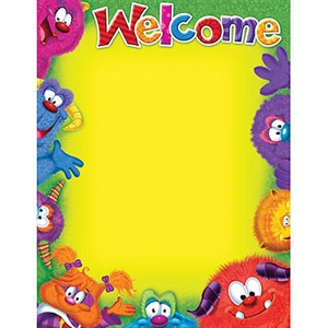 Picture of Furry Friends Welcome Learning Chart