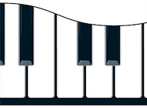 Picture of Musical Keyboard Border