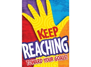 Picture of Keep Reaching Toward Your Goals Motivational Chart