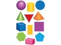Picture of Geometric Shapes Jumbo Cut-outs