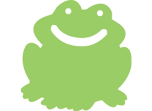 Picture of Frogs Two-Colour Mini Cut-outs