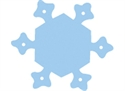 Picture of Snowflake Two-Colour Mini Cut-outs