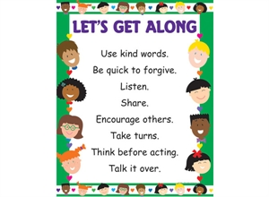 Picture of Let's Get Along Classroom Essentials Chart