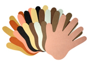 Picture of Multicultural Hands Cut-outs