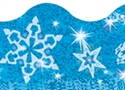 Picture of Sparkle Snowflakes Border