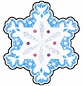 Picture of Sparkle Snowflakes Cut-outs