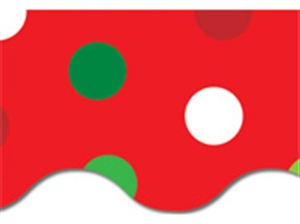 Picture of Christmas Dots Border