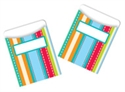 Picture of Stripes and Stitches Library Pockets