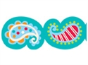 Picture of Playful Paisley Border