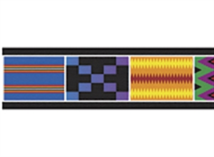 Picture of African Weave Border