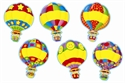 Picture of Hot Air Balloons Cut-outs