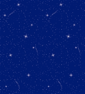 Picture of Night Sky Backing Paper