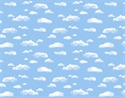 Picture of Clouds Backing Paper
