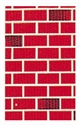 Picture of Red Brick Backing Paper