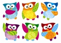 Picture of Owl-Stars Cut-outs