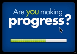 Picture of Are you making progress? Motivational Chart