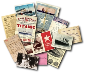 Picture of Titanic Memorabilia Pack
