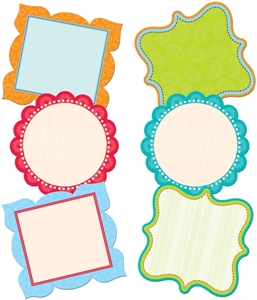 Picture of Fancy Chart Cards Jumbo Cut-outs