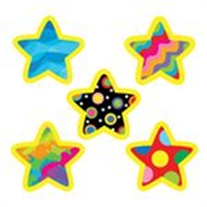 Picture of Poppin' Patterns Stars Hot Spots Stickers