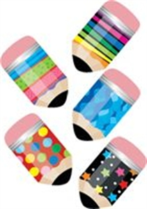 Picture of Poppin' Patterns Pencils Hot Spots Stickers