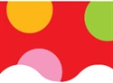 Picture of Jumbo Polka Dots Border