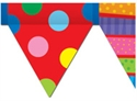 Picture of Poppin' Patterns Pennant Border