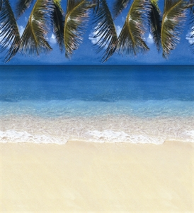 Picture of Tropical Beach Backing Paper