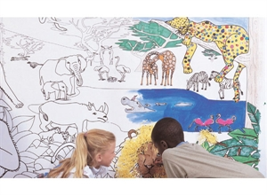 Picture of African Safari Learning Wall