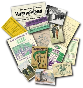 Picture of Suffragettes Memorabilia Pack
