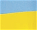 Picture of Bi-colour Vivid Display Rolls - Sky Blue/Canary
