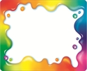 Picture of Rainbow Gel Name Tags