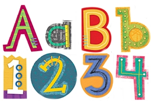 Picture of Collage Art Designer Letters