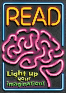 Picture of Read light up your imagination Motivational Chart