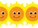 Picture of Happy Suns Border