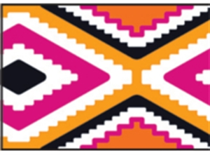 Picture of Aztec Border - Orange