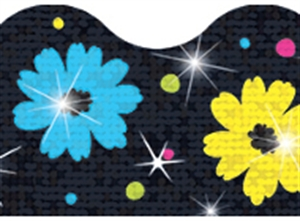 Picture of Daisy Delight Sparkle Border