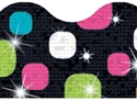 Picture of Disco Super Dots Sparkle Border