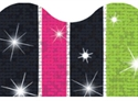 Picture of Groovy Stripe-tacular Sparkle Border