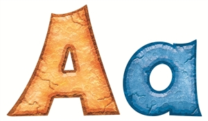 Picture of Rock 'n Stones Ready Letters