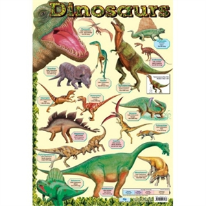 Picture of Dinosaurs Learning Chart