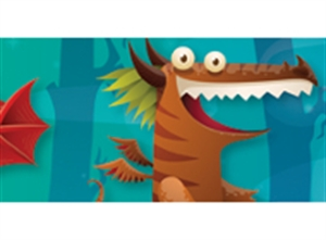 Picture of Dragons Border