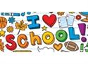 Picture of School Doodles Border