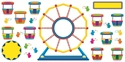 Picture of Ferris Wheel Large Display Set