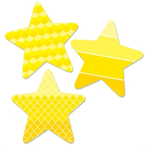 Picture of Painted Palette Stars Designer Cut-Outs